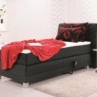 1 persoons boxspring elektrisch