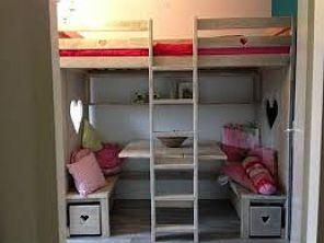 Hoogslaper kopen welke past bij jouw situatie en beschikbare ruimte - Hoogslaper met geintegreerde garderobe ...